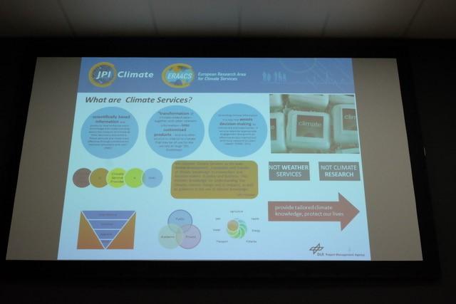 Les climate services à l'honneur du côté de ERA4CS