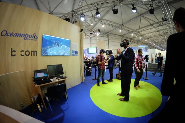 Pour attirer le chaland, les français misent sur la réalité virtuelle et les fonds marins.